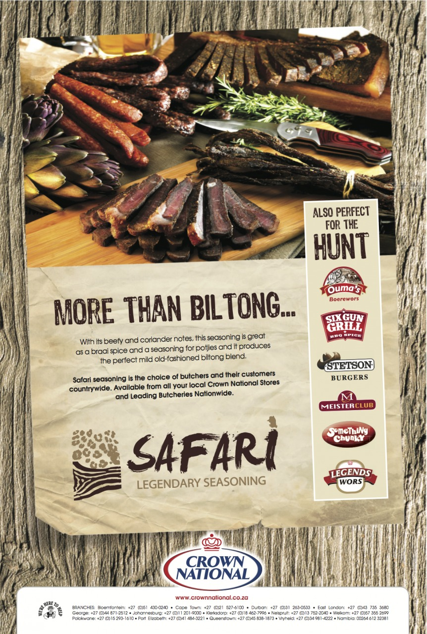 Crown National Safari Biltong Seasoning 200g