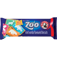 Bakers Iced Zoo Biscuits (BB 12 Oct 17)