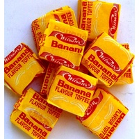 Wilsons Banana Toffees - 10 Pack