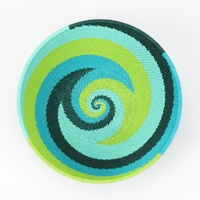 Telephone Wire Bowl XL (17cm) [Colour: Greens/Blues]