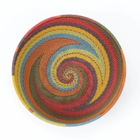 Telephone Wire Bowl XL (17cm) [Colour: Earthy Rainbow]