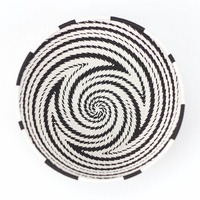 Telephone Wire Bowl XL (17cm) [Colour: Black and White]