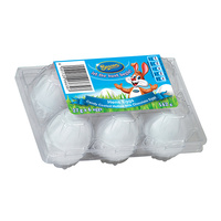 Beacon White Hens Easter Eggs - 6 Pack (BB 02/11/17)