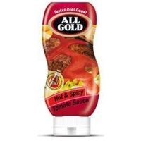 All Gold Hot & Spicy Tomato Sauce Squeezy 500ml