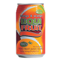 Liqui-Fruit Mango & Orange, 330ml cans - 6 Pack