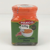 Pakco Curried Chilli Paste 220g (BB 22/07/19)