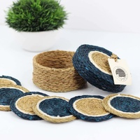 Gone Rural Coasters and Box - Teal