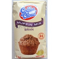 Golden Cloud Bran Muffin Mix 1kg (BB 27/09/19)
