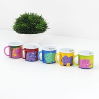 Lumela Painted Enamel Mug - Small