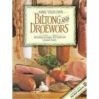 Make Your Own Biltong and Droewors Book (recipes and instructions)
