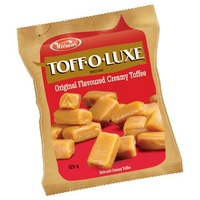 Wilsons Toff-O-Luxe Original Flavoured Creamy Toffee 125g