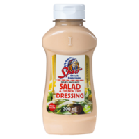 Spur Pink Salad & French Fry Dressing Small Squeeze Bottle 300ml