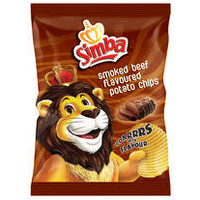 Simba Smoked Beef Flavoured Potato Chips 125g