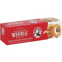Bakers Strawberry Whirls 200g (BB 27/11/19)