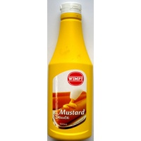 Wimpy Mustard Sauce - 500ml Squeeze Bottle (BB 06/07/2018)