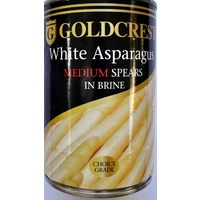 Goldcrest White Asparagus Medium Spears - 410g