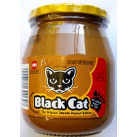Black Cat Peanut Butter - Original (No Added Sugar Or Salt) 400g