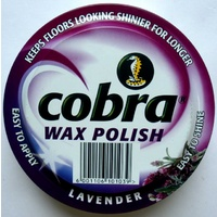 Cobra Wax Polish - Lavender 400g