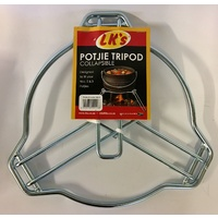 BBQ Collapsible Tripod For Potjie For No 2 and No 3 Potjie