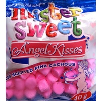 Mister Sweet Angel Kisses (Musk Scented Pink Cachous) - 40g