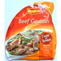 Royco Beef Goulash Cook In Sauce