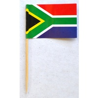 South African Flag  25 Toothpicks