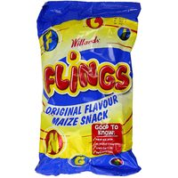 Willards Flings - Original Flavour Maize Snack 150g (BB 09/01/19)