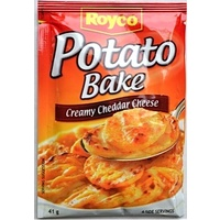 Royco Creamy Cheddar Cheese Potato Bake