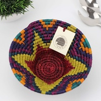 Gone Rural Woven Basket Small Rainbow (22cm)