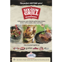 Crown National Six Gun Grill Seasoning BBQ