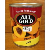 All Gold Peach Jam 450g