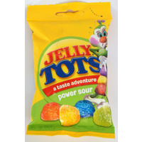 Beacon Tots (Jelly Tots) Power Sour 100g (BB 20/09/18)