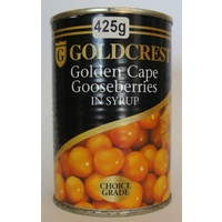 Goldcrest Golden Cape Gooseberries In Syrup 425g