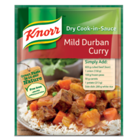 Knorr Mild Durban Curry Dry Cook-in-Sauce (BB 31 JUL 17)
