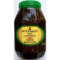 Mrs Ball's Hot Chutney 1.1kg (BB 22/02/19)