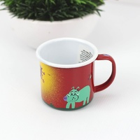 Lumela Enamel Mug Medium [Colour: Red]