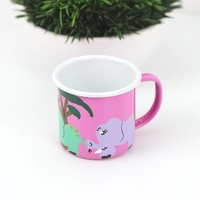 Lumela Enamel Mug Medium [Colour: Pink]