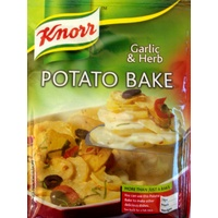 Knorr Potato Bake - Garlic & Herb (BB 26/01/19)