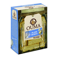 Ouma Plain Rusks - Sliced 450g