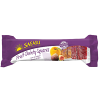 Safari Fruit Dainty Squares 250g (BB 31/03/19)
