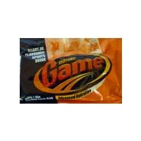 Isotonic Game Sachet - Naartjie Flavoured Powered Sports Drink 80g