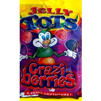 Beacon Tots (Jelly Tots) - Craziberries Flavoured 100g {Discontinued}