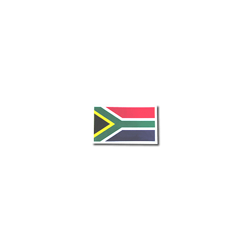 Sticker - SA Flag 12 X 8.5cm