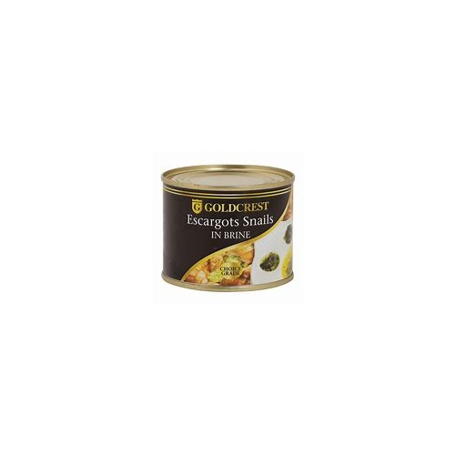 Goldcrest Line Snails In Brine (Escargots) 200g