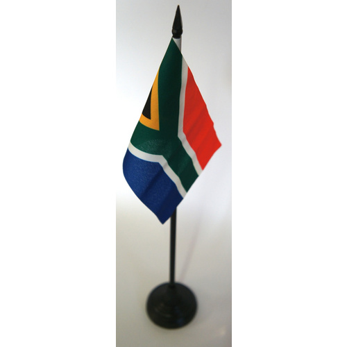 South African Flag Desk Stand