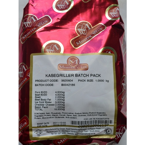 Meister Club Kasegriller Seasoning 1kg