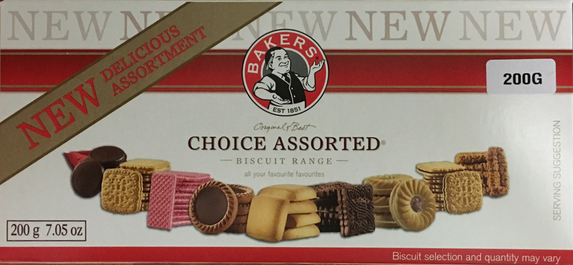 Bakers Choice Assorted Biscuit Range 200g