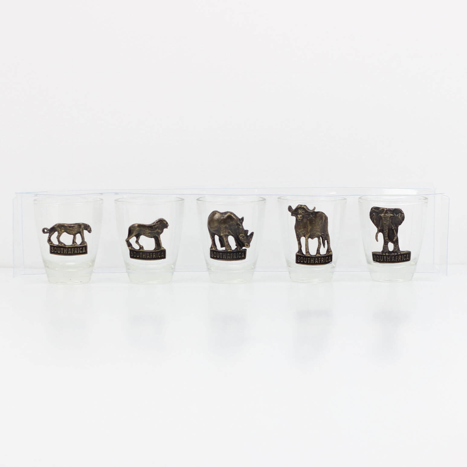 Shot Glasses - Big 5 - Set of 5