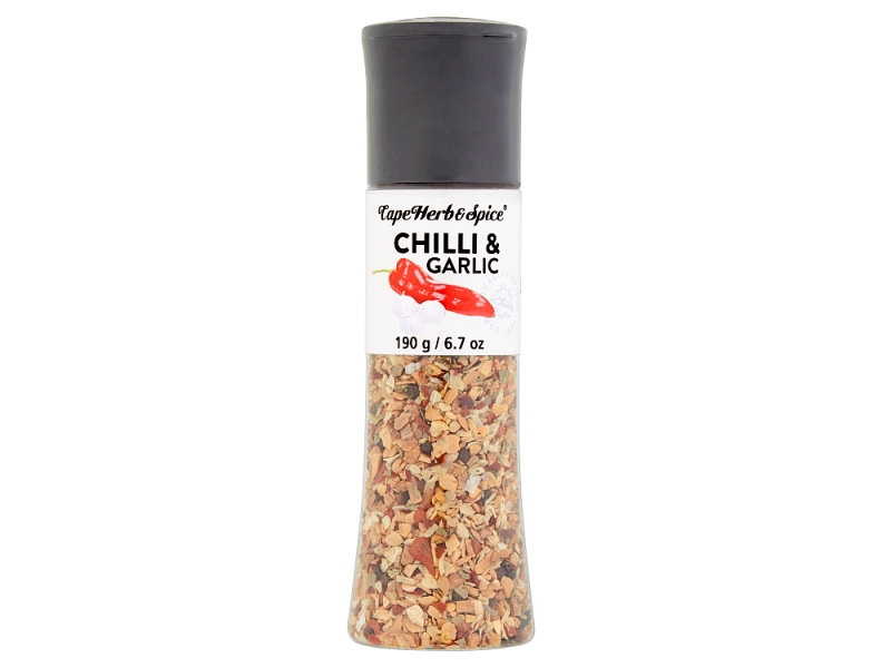 Cape Herb & Spice - Chilli & Garlic Grinder 190g