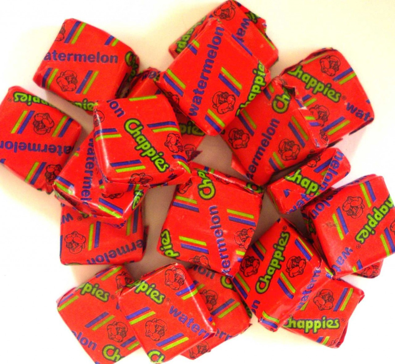Chappies Watermelon Gum - Pack Of 20